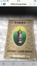FA Cup Final Programme 1972 Arsenal v Leeds United