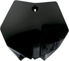 UFO Black Front Number Plate For Kawasaki KLX 110 10-15 KA04718-001