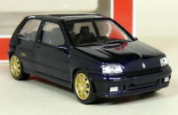 Norev 1/43 Scale - Renault Clio Williams Phase 1 Blue Diecast Model Car