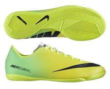 NIKE MERCURIAL VICTORY IV IC INDOOR SOCCER SHOES FOOTBALL Vibrant Yellow/Black