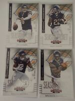 2014 Panini Contenders Chicago Bears Team Set of 4 Football Cards