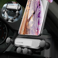 Auto Car Air Vent Mount Cell Phone Gravity Holder Stand For iPhone 11/XR/XS Max