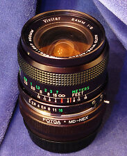 Sony E-mount adapted VIVITAR 24mm f2 Manual Focus Super-Wide Angle Prime Lens