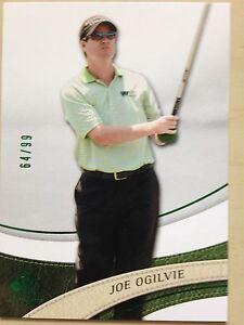 2014 SP Authentic Golf JOE OGILVIE #34 Green Parallel 64/99