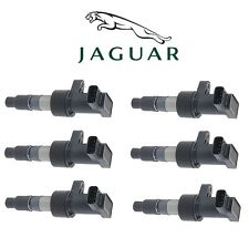 Jaguar S-Type X-Type 2002-2008 Set of 6 Direct Ignition Coils Genuine C2S011480