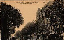CPA PARIS 19e Avenue Jean Jaures - Vue prise du marché (302069)