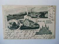 Ansichtskarte Stetten 1902 Gasthaus zum Falken Hechingen