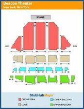 New York Beacon Theatre NY Concert Tickets