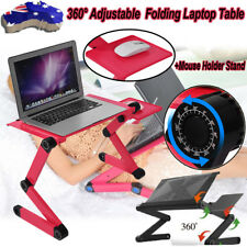 Portable Reading Tray Bed 360° Folding Desk Stand For Notebook iPad Laptop Table