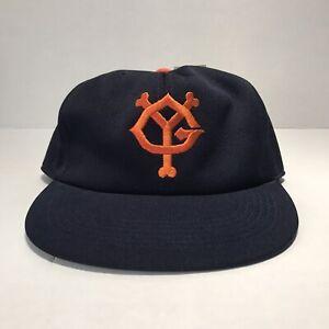 Yomiuri Giants Snapback Baseball Hat Cross Co. Ltd Japanese Vintage Medium  NWT