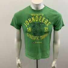 John Deere Kids Green Deere T-Shirt Size Medium (10-12) Cotton