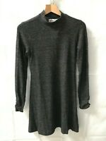 Hollister ® Dark Grey Long Sleeved Sweater Dress - Size Medium - New - RRP = £39