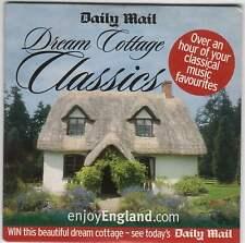 DREAM COTTAGE CLASSICS: PROMO CD: PACHELBEL MAHLER FAURÉ BEETHOVEN MOZART ELGAR