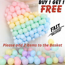"""5""""-10""""-12"""" inch Quality Macaron Pastel balloons 100pcs Candy Mix Color Party Bal"""