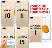 Sheffield Utd Football Shirt Phone Case Cover Any Name & Number iPhone Samsung