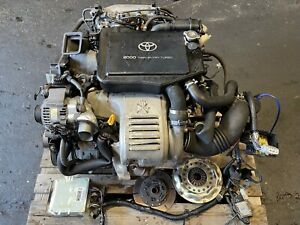 TOYOTA CELICA GT4 ST205 3SGTE COMPLETE ENGINE #2