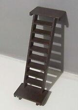 PLAYMOBIL (B3327) WESTERN - Escalier Latéral Marron Foncé Maisons 3426 3430 3431