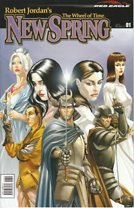 Robert Jordan's Wheel of Time prequel - New Spring comic series, Set of Eight