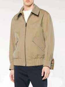 RRP $1990 BURBERRY Reversible Vintage Harrington Jacket Sz. S