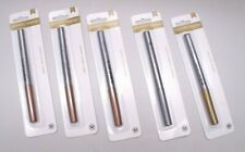LOT of 5 American Crafts METALLIC MARKERS Medium Point SILVER GOLD 3 COPPER ~NEW