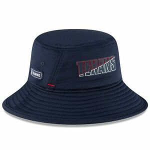 Houston Texans New Era NFL 2020 Navy Training Camp Bucket hat cap one size