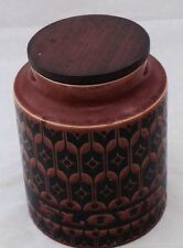 Unboxed Hornsea Pottery Jars
