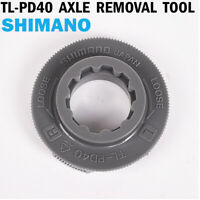 Shimano TL-PD40 SPD Pedal Axle/Spindle Lockring Removal Tool Grey US