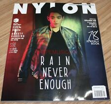 NYLON RAIN WINNER MINO B1A4 JINYOUNG KOREA ISSUE MAGAZINE 2017 FEB FEBRUARY NEW