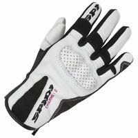 Spidi Charme 2 CE Ladies Motorcycle Motorbike Leather Gloves White