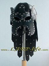 "Lederhelm ""Dauitsch Lord"" LARP Drow Uruk-Hai Helm"
