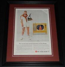 1959 RCA Victor TV Don Budge 11x14 Framed ORIGINAL Vintage Advertisement
