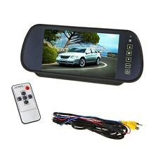 "7"" LCD TFT DVD Screen Auto Car Reverse Parking Rear View Backup Mirror Monitor"
