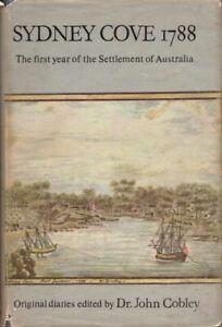 Sydney Cove 1788 by John Cobley BOOK Australian History HC Australia