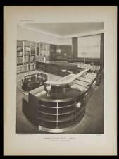 L'ARCHITECTE 1931 BUREAU MICHEL ROUX SPITZ, ART DECO, FORD PARIS