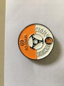 Trojan Records Spirit of 69 Badge Skinhead Mod Reggae Ska