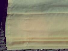1 Dachfenster Raffrollo Faltrollo helles gelb zum Schrauben B/H 57,5 x 125,6 cm