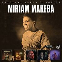 MIRIAM MAKEBA - ORIGINAL ALBUM CLASSICS  5 CD NEU