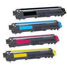 4 Pack TN221 Black Cyan Magenta Yellow TN225 Toner Cartridges for Brother 9340