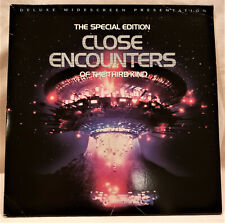 New listing Close Encounters Of The Third Kind -S.Spielberg 2 Laserdisc Set Color 132Min.