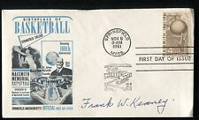 Frank W. Keaney Signed First Day Cover MLI/COA