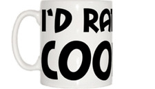I'd Rather Be Cooking Mug