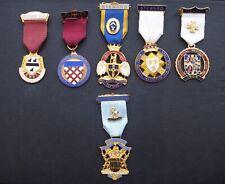 Masonic Stewards Jewels x 6