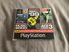Official UK Playstation One Demo Game Number 55 Formula 1 ACE PAL PS1 Rare Retro
