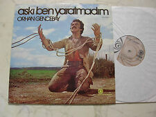 TÜRKEI LP ORHAN GENCEBAY Aski Ben Yaratmadim *KERVAN PLAKCILIK LABEL 70s LP*