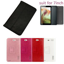 For 7 Inch Android Tablet PC 706/6577 Universal Folio Leather Case Covers Stand