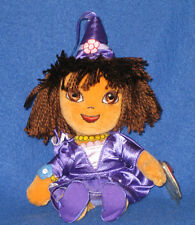 TY DORA the EXPLORER (FAIRYTALE) BEANIE BABY - MINT with MINT TAGS