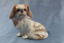 pekingese Hund hundefigur porzellanfigur Royal Copenhagen palasthund pekinese