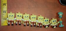 Squidward and Spongebob square pants Sponge bob PVC Figures free shipping USA