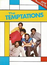 The Temptations 25th Aniversary Tour Programme