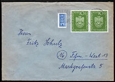 Bund 163, Museum München, Paar auf portog. Brief